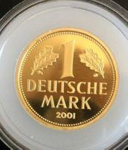 Goldmünze 1 Mark