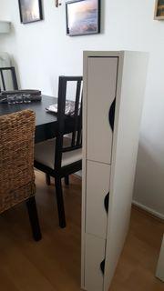 weißer Schreibtisch neuwertig