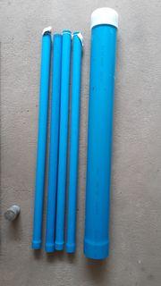 4 Stck neue PVC Brunnenrohre