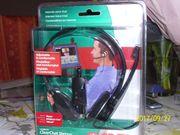 PC-Headset Stereo mit drehbarem Mikrofon