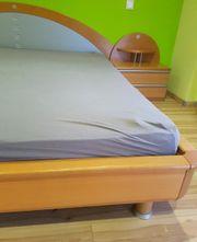 Schlafzimmer Bett 200x200 cm Nachttische
