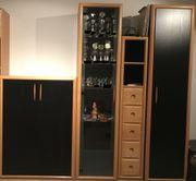 Schrankelemente Wohnzimmer Schrank Regal Sideboard
