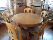 Tisch rund Erle ausziehbar gratis