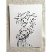 Dragon Ball Kunstzeichnung