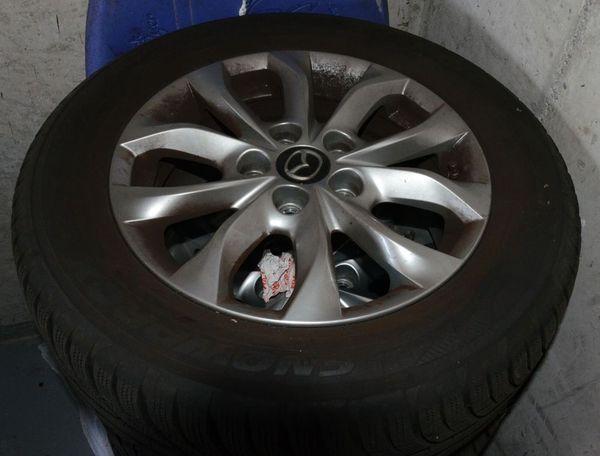 Mazda Winter-Kompletträder incl original Mazda Alufelgen -