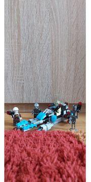 Lego Star Wars Raumschiff blau