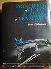 Galamian Violin Playing Teaching Buch