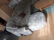 Sofa mit elektrischer Schlaffunktion Ecksofa