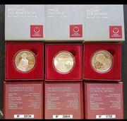 20 Silber Münzen Serie Wolfgang