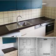 neuwertige Segmüller-Einbauküche mit Elektrogeräten
