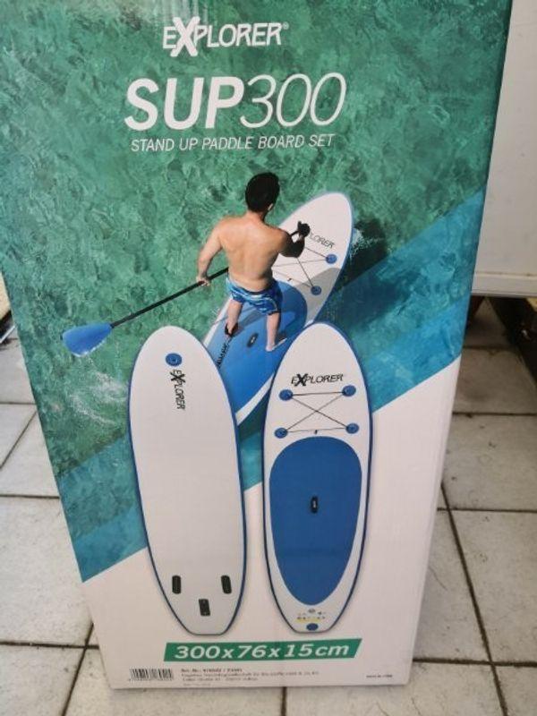 Neuwertiges Subboard 300x15 cm bis 115 Kg Koerpergewicht