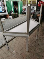 Trapez-Schreibtisch