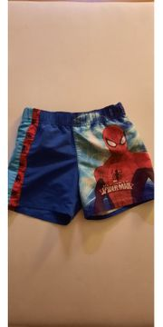 Badehose Spiderman Gr 110 116