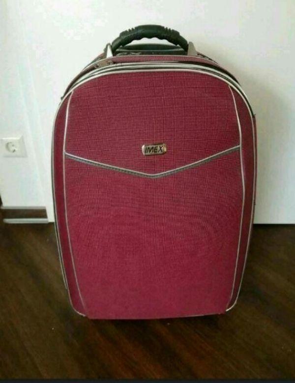 Großer Koffer Trolly