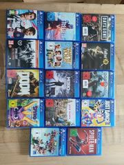 PS4 spiele Große auswahl