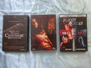 3 horror DVDs Texas Chainsaw