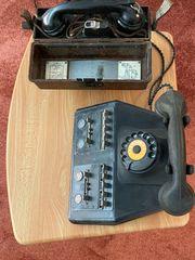 Feldtelefon Deutsche Wehrmacht Reichsbahntelefon