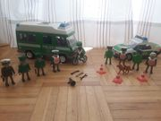 Playmobil Polizei grün und blau