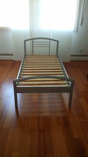Metall- Bett Rollladenschrank für 150