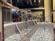 Eisenbahnanlage für alle 4 Betriebsysteme