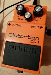 BOSS DS-1 Distortion Pedal fast