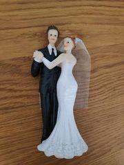 Brautpaar für Hochzeitstorte Dekoration