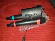 Singstar Wireless Mikrofone Neuwertig