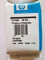 1 HP 343 Patrone color