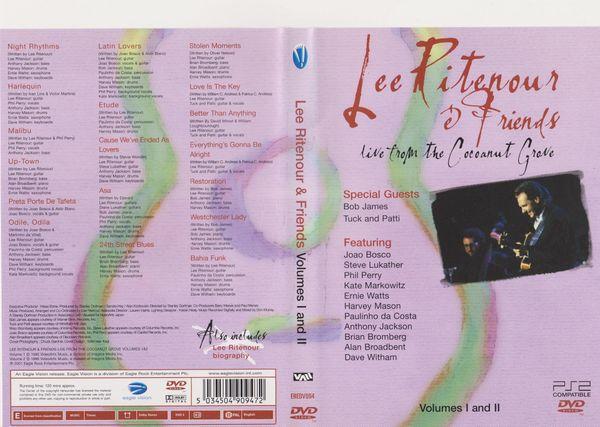 Musik - DVD Lee Ritenour Friends -