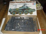 Modellbausatz Schwerer PanzerspähwagenMaßstab 1 35