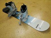 Snowboard mit Schuhe für Damen