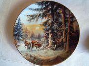 Sammelteller Malerische Winterlandschaften