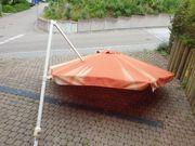 Sonnenschirm Pendelschirm Ampelschirm ohne Unterbau