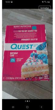 Quest Nutrition Bars ungeöffnet