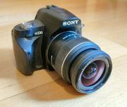 Sony Alpha A230 Digitalkamera 18-55mm