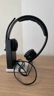 Logitech H820e Kabelloser Dual-Kopfhörer mit