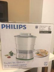 NEUEN unbenutzten Philips Dampfgarer