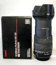 f CANON - Sigma 18-200mm 1
