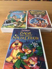 9 VHS Disney Filme