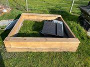 sandkasten Holzgestell