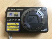 Digitalkamera Sony mit viel Zubehör