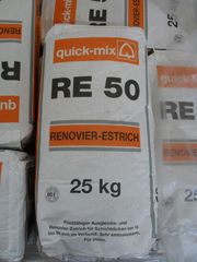 Renovier-Estrich 25 kg von Quick-Mix