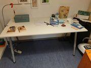 Schreibtisch höhenverstellbar wie neu NUR