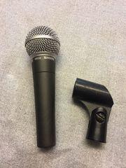 SHURE SM-58 Dynamisches Mikrofon