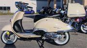 Retroroller 50ccm Motorroller R05 Classic