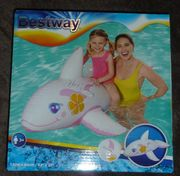 NEU aufblasbares Schwimmtier Whale ride