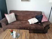 Ikea Couch Sofa aus Verloursleder