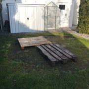 Verschenke Holzpaletten