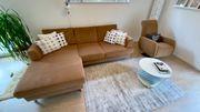 Segmüller L-Sofa mit Sessel mit