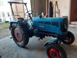 Traktoren, Landwirtschaftliche Fahrzeuge - Lanz D 1616 BJ 1958